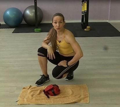 Plano de treino: semana 6, exercício 3: trabalhar ombros, costas e peito