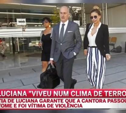 Tia de Luciana Abreu garante que cantora sofreu maus tratos