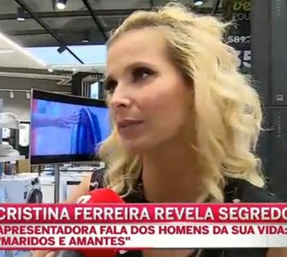 Cristina Ferreira conta como lida com ofensas
