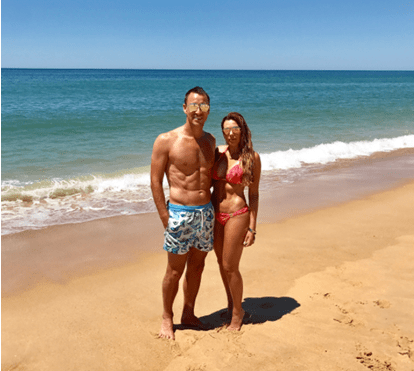 John Terry desfruta de férias em família no Algarve