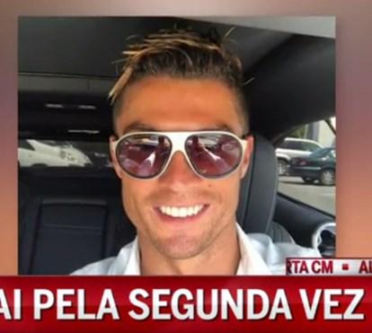 Cristiano Ronaldo foi pai pela 2ª vez e de gémeos