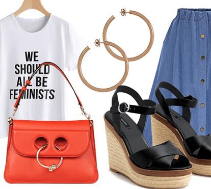Quarta-feira: Mensagem feminista