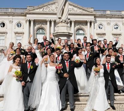 Casamentos de Santo António mantêm tradição das Festas de Lisboa