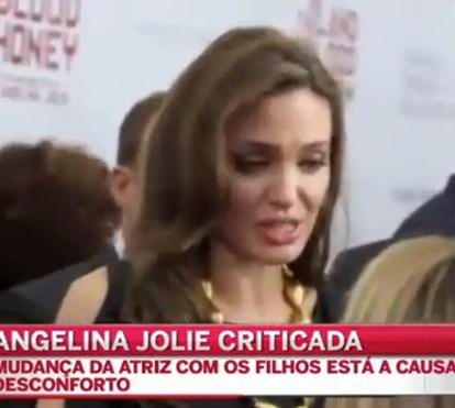 Angelina Jolie criticada pelos vizinhos