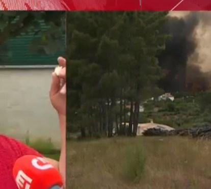 Testemunho emocionado: foge de incêndio mas perde família