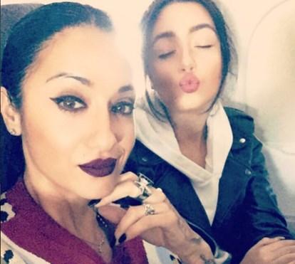 Ana Malhoa cúmplice com a filha Índia