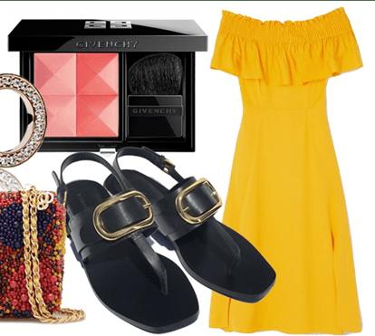 Terça-feira: vestido de verão