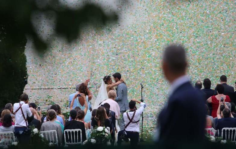 As primeiras imagens do casamento de Daniel Oliveira e Andreia Rodrigues