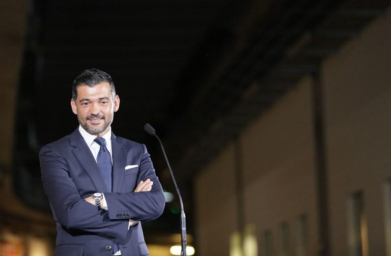 Sérgio Conceição apresentado como treinador do FC Porto
