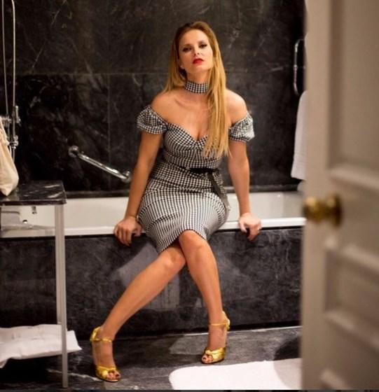 A sensualidade de Cristina Ferreira