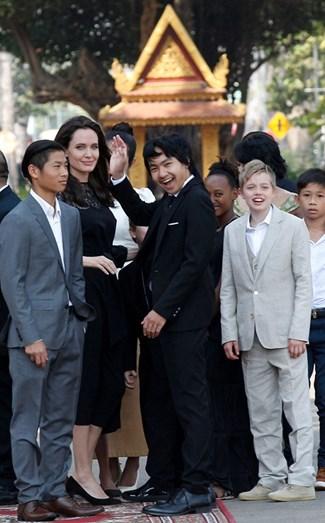 Os filhos têm sido o grande apoio de Angelina Jolie
