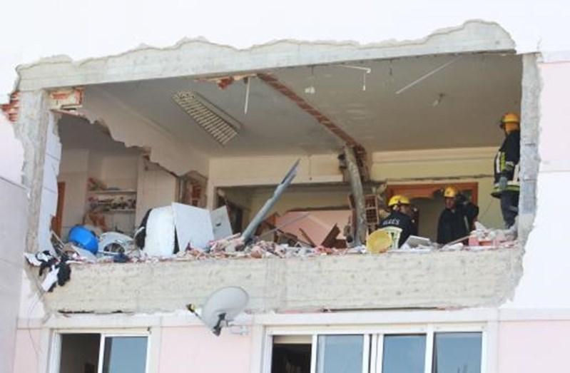 Uma explosão de gás, em 2011, destruiu o apartamento de Sónia Brazão