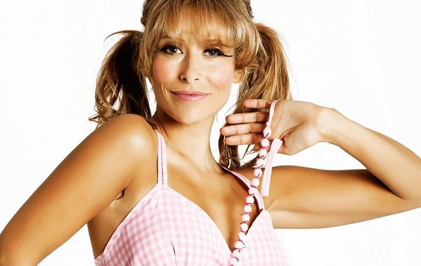 A atriz Sónia Brazão