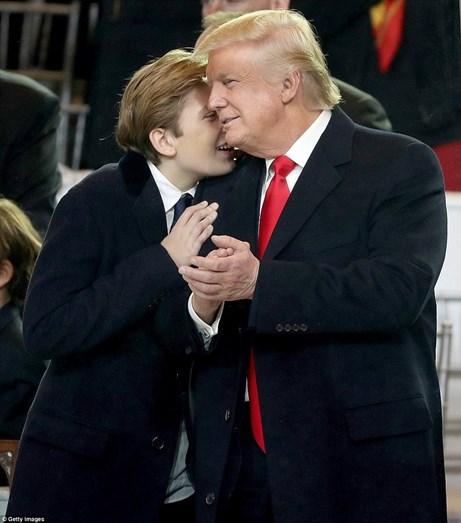 Barron e Donald Trump