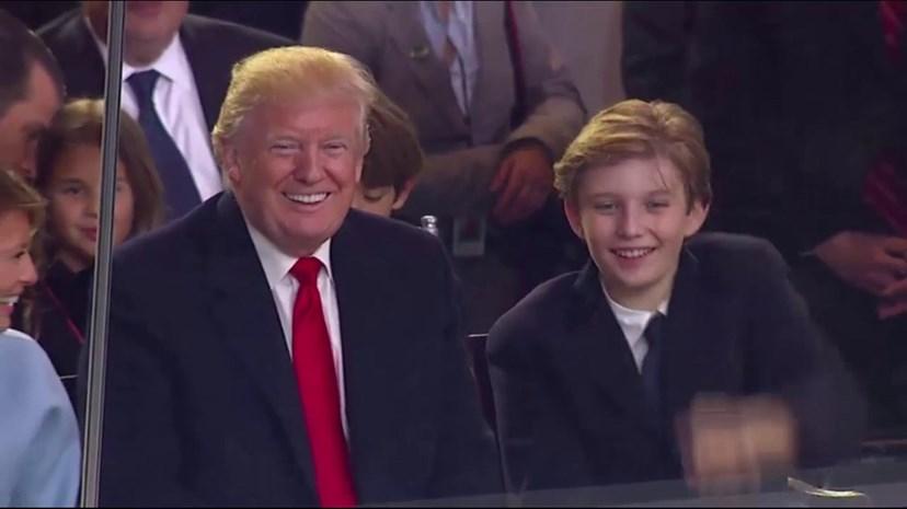 Melania Trump diz que o filho tem muitas parecenças com o pai