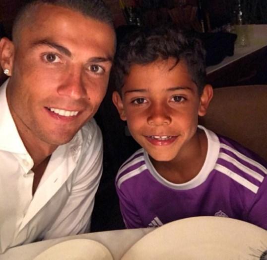 Ronaldo e Cristianinho: Amor de pai e filho