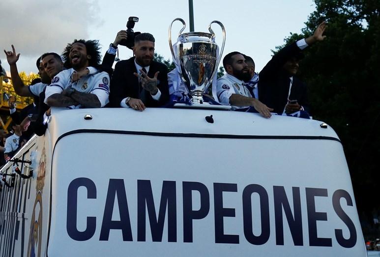 Dias de glória para Cristiano Ronaldo, rei da Liga dos Campeões