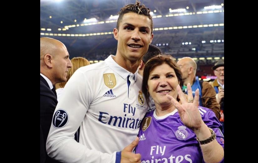 Ronaldo festejou aniversário de Dolores e Ano Novo na Madeira