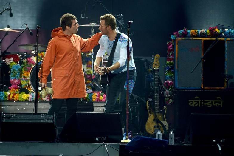 Liam Gallagher e Chris Martin
