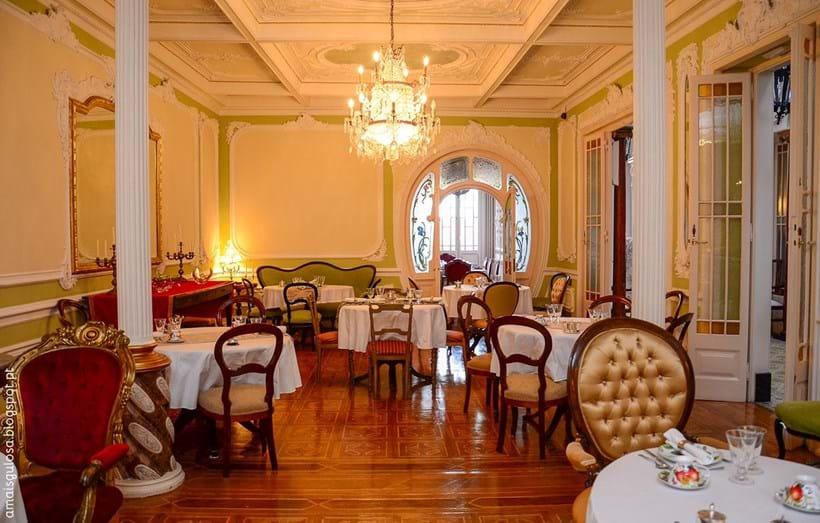 Interior do hotel Palace Chafariz Del Rei