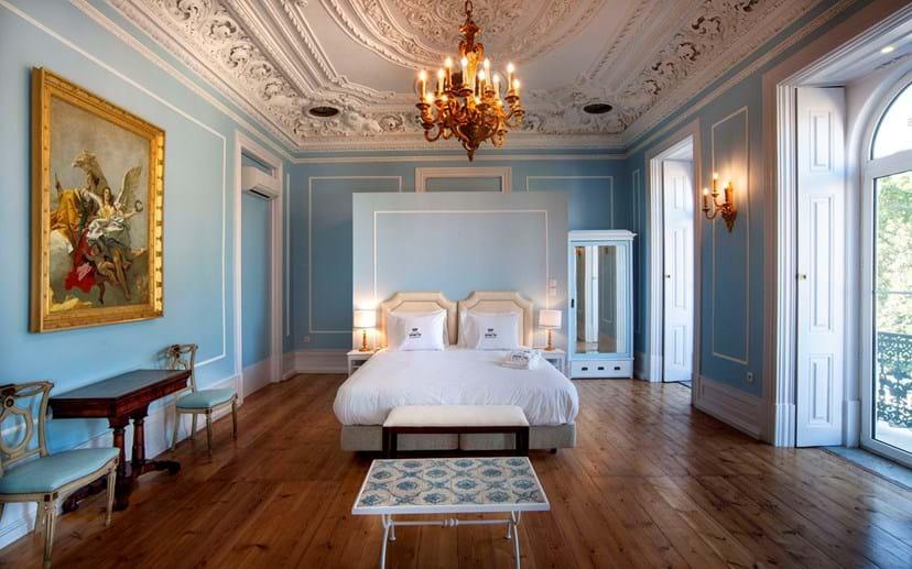 Interior do hotel Casa do Príncipe