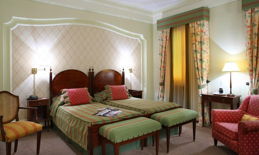 Interior do hotel As Janelas verdes