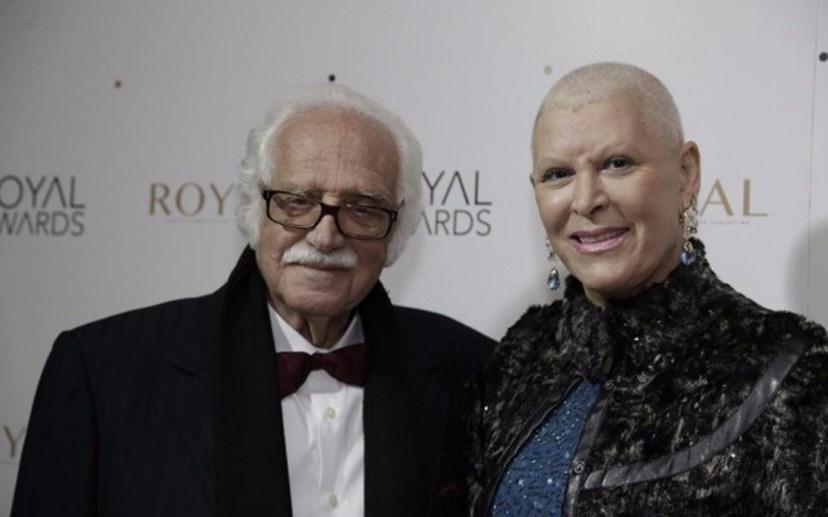 O casal na 3.ª edição dos Royal Awards