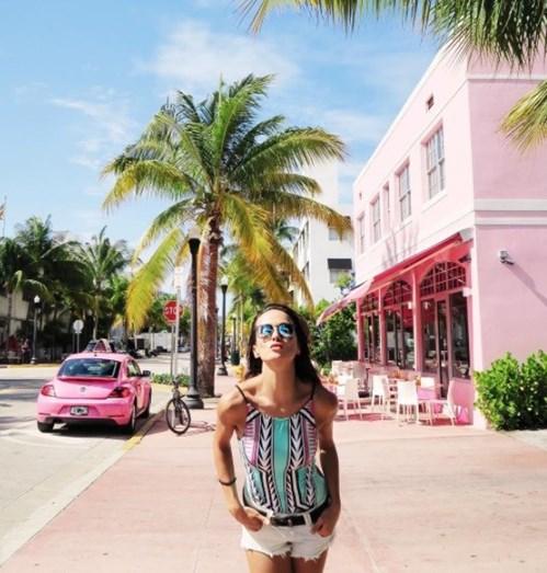 Helena gosta de partilhar alguns momentos do seu dia-a-dia em Miami nas redes sociais