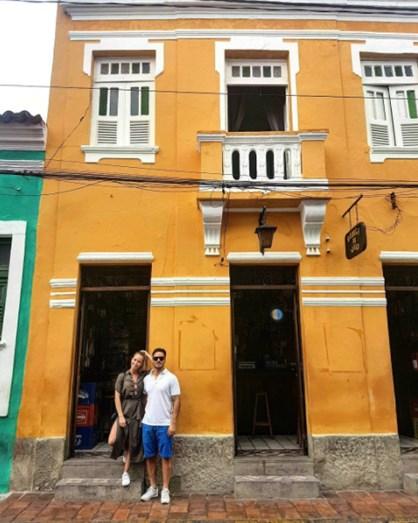 Sofia e David partiram para o Brasil no domingo, dia 4 de maio, para umas férias românticas