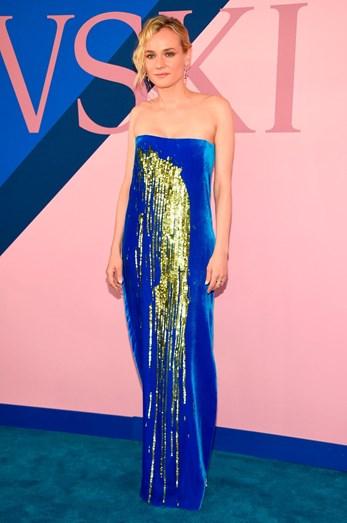Diane Kruger com uma criação Monse
