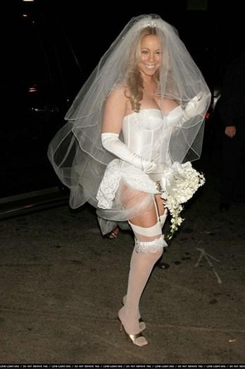 Mariah Carey esqueceu que a cerimónia seria antes da lua de mel