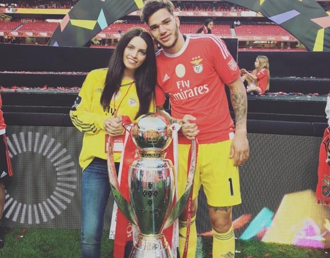 Ederson e Lais Moraes já são pais