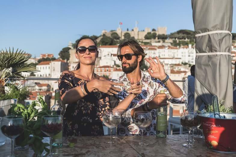 Festa em Lisboa