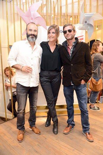 Rui Unas, Inês Castel-Branco e Pedro Granger