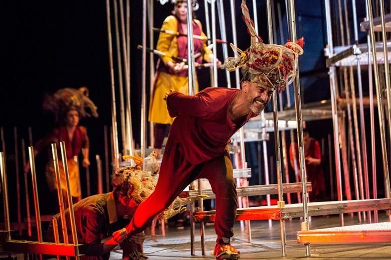 A peça de teatro 'A Divina Comédia-Inferno'