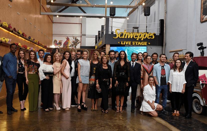 Grande parte do elenco de 'A Herdeira' participou na apresentação da novela, no restaurante El Bulo, em Lisboa.