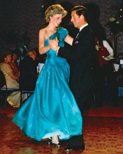 Alguns momentos do casal a dançar
