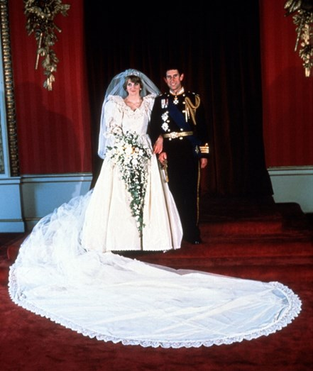 Os príncipes casaram no dia 29 de julho de 1981
