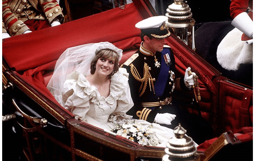 O casamento dos príncipes de Gales