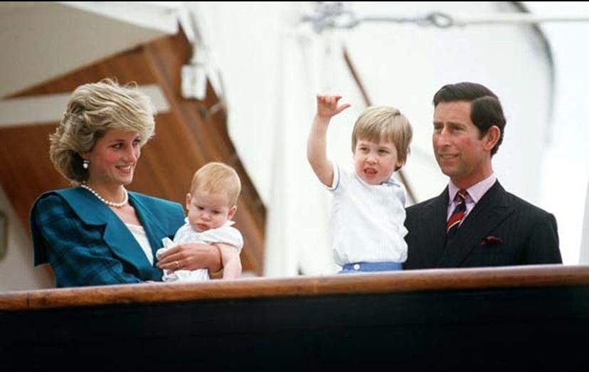 A família real de gales