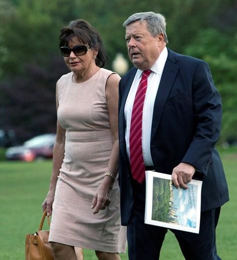 Os pais de Melania Trump: Amalija e Victor Knavs