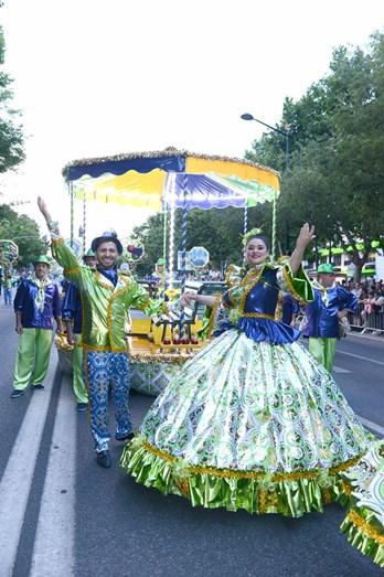 Marcha do Bairro dos Anjos, de Leiria, foi uma das três convidadas a descer a Avenida da Liberdade