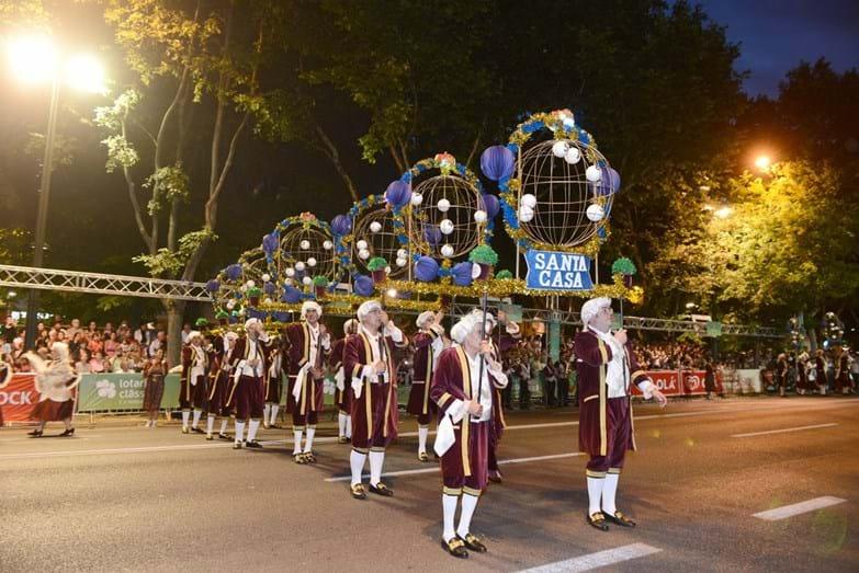 A marcha da Santa Casa