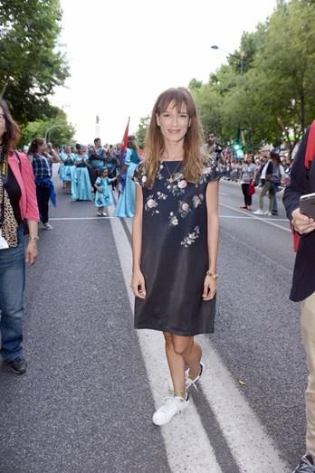 Margarida Vila Nova assistiu ao desfile das marchas