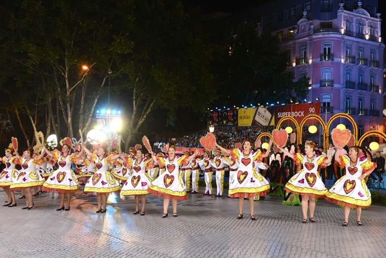 A marcha de Benfica