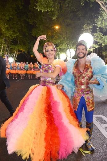 Filipa Cardoso e Ricardo de Sá deram o seu melhor pela marcha do Alto do Pina