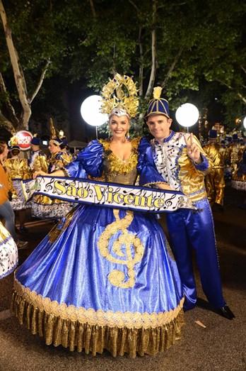 Melânia Gomes e Jorge Mourato foram os padrinhos da marcha de S. Vicente