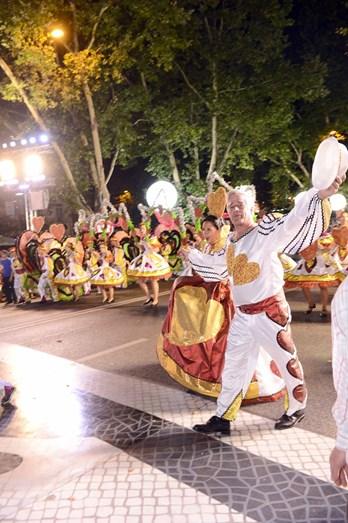 Gonçalo da Câmara Pereira e Marta Cardoso foram os padrinhos da marcha de Benfica