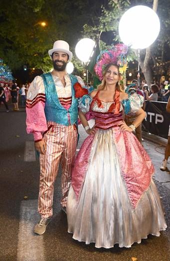 João Catarré e Sílvia Rizzo foram os padrinhos da marcha da Penha de França