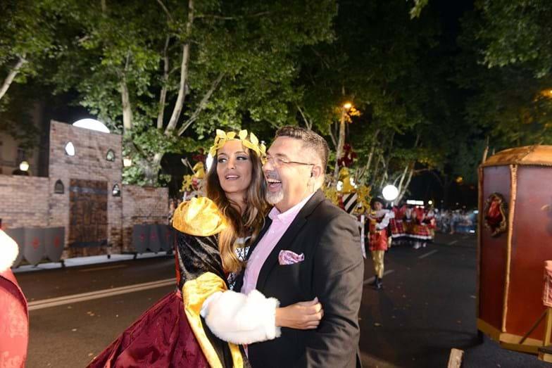 Isabel Figueira com José Carlos Malato